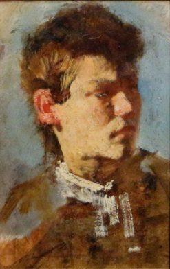 Self Portrait | Francesco Paolo Michetti | Oil Painting