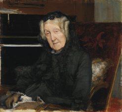 Portrait of Madame Waskiewicz   Jules Bastien-Lepage   Oil Painting