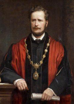 Alderman William Vaughan | Henry Jamyn Brooks | Oil Painting