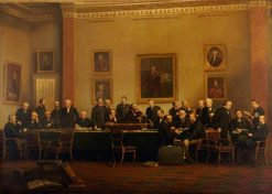 Council of the College | Henry Jamyn Brooks | Oil Painting
