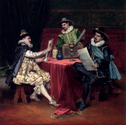 The Collectors | Adolphe Alexander Lesrel | Oil Painting