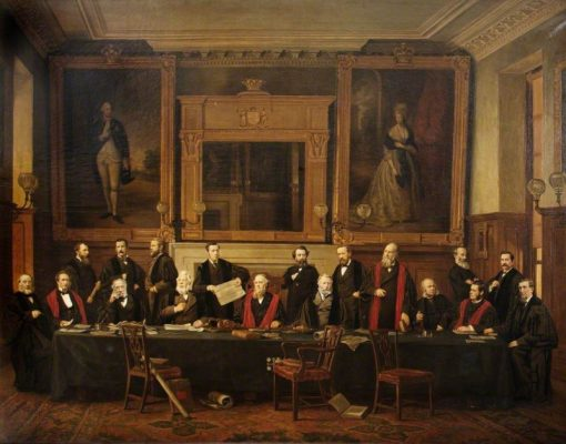 The Corporation of Abingdon | Henry Jamyn Brooks | Oil Painting