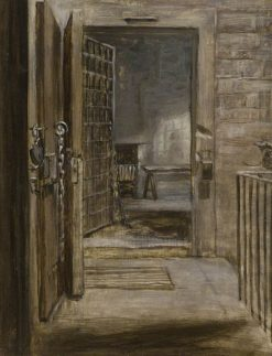 A Cell in Arbroath Gaol | Patrick Allan-Fraser | Oil Painting