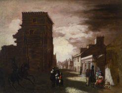 Arbroath High Street | Patrick Allan-Fraser | Oil Painting
