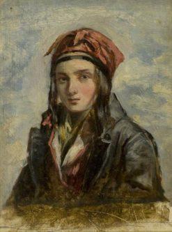 Arbroath Fisher Lassie | Patrick Allan-Fraser | Oil Painting