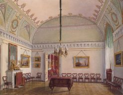 A Hall in the Winter Palace | Eduard Gau | Oil Painting