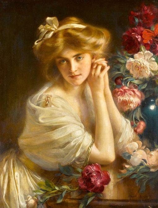 Dolce Far Niente   Albert Lynch   Oil Painting