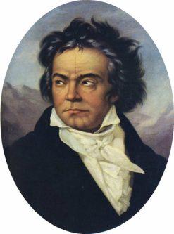 Ludwig van Beethoven | Ferdinand Schimon | Oil Painting