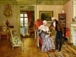 For fifty years | Walter Dendy Sadler | Oil Painting