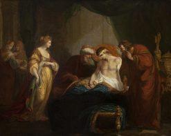 Antiochus and Stratonice | Richard Samuel | Oil Painting