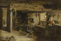 Cottage Interior | Patrick Allan-Fraser | Oil Painting