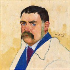 Self Portrait   Max Buri   Oil Painting