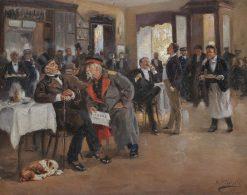 Chez Dominique | Vladimir Yegorovich Makovsky | Oil Painting
