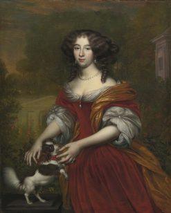 Portrait of a Lady | Adriaen Backer | Oil Painting