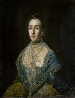 Mrs Banks | Strickland Lowry | Oil Painting