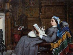 Elizabeth Allan-Fraser Seated