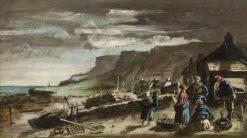 Cottages at Musselcrag | Patrick Allan-Fraser | Oil Painting