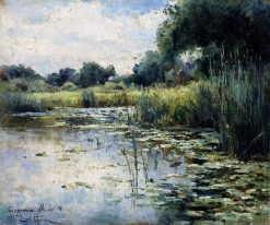 A Marsh | Mikhail Berkos | Oil Painting