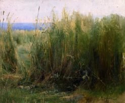 Flax | Mikhail Berkos | Oil Painting