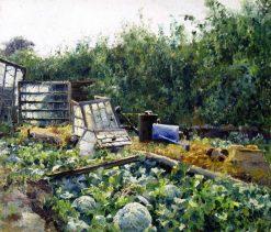 Vegetable Gardens | Mikhail Berkos | Oil Painting