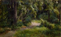 In the Park | Mikhail Berkos | Oil Painting