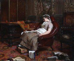 Idleness | Patrick Allan-Fraser | Oil Painting