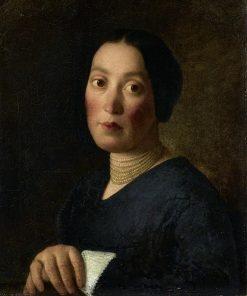 Elisabeth Musch im Alter von 24 Jahren | Johann Michael Neder | Oil Painting