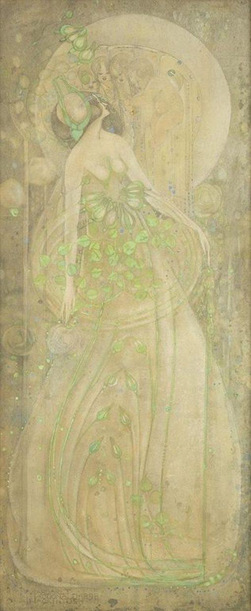 June Roses   Margaret MacDonald   Oil Painting