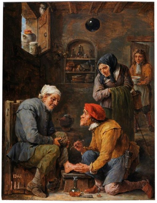 Surgery | David Teniers | Oil Painting