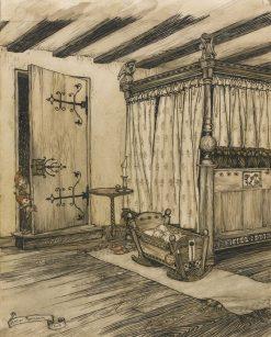 Almost fairy tale | Arthur Rackham | Oil Painting