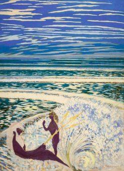 Neptune et Galathee | Leon Spilliaert | Oil Painting