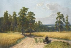 At the Edge of the Pine Forest | Ivan Ivanovich Shishkin | Oil Painting
