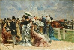 At the Races | Louis Abel-Truchet | Oil Painting