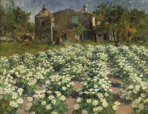 Field of Flowers | George Hitchcock | Oil Painting