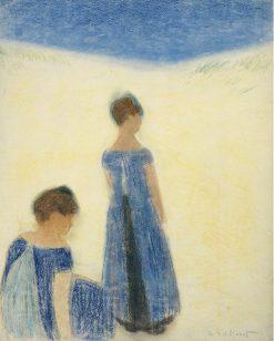 Women on the Dunes | Leon Spilliaert | Oil Painting