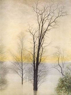 Trees in the Flood | Leon Spilliaert | Oil Painting