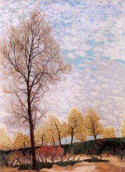 Spring in Brabant | Leon Spilliaert | Oil Painting