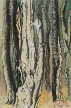 Trees | Leon Spilliaert | Oil Painting