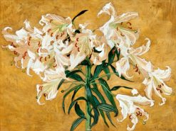 Lilies | Albert Edelfelt | Oil Painting