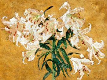 Lilies | Albert Edelfelt | Oil Painting