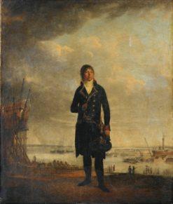 Portrait of Louis-Michel Crucy | Jean Francois Sablet | Oil Painting