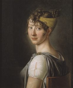 The Artists Sister Wilhelmina | Per Krafft the Younger | Oil Painting