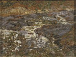 Cascading Brook | Helmer Osslund | Oil Painting