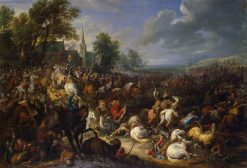 Cavalry Engagement | Adam Frans van der Meulen | Oil Painting