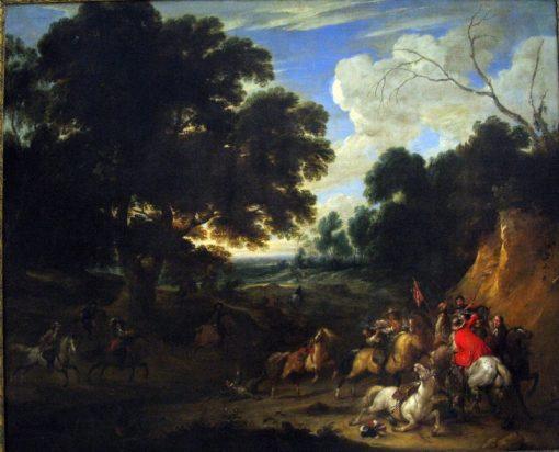 Battle Scene | Adam Frans van der Meulen | Oil Painting