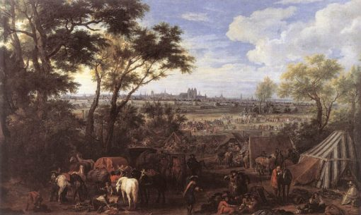 The Army of Louis XIV in front of Tournai in 1667 | Adam Frans van der Meulen | Oil Painting
