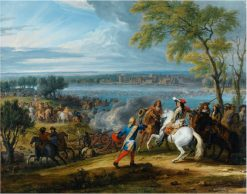 The crossing of the Rhine at Lobith