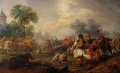 Reitertreffen zwischen Kaiserlichen und Schweden | Adam Frans van der Meulen | Oil Painting