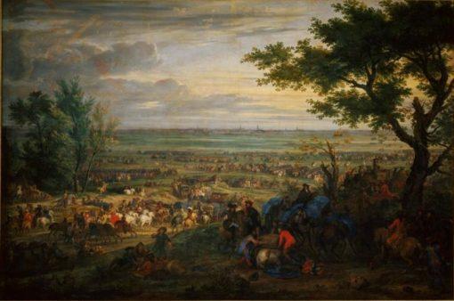 Arrival of Louis XIV at Douai | Adam Frans van der Meulen | Oil Painting