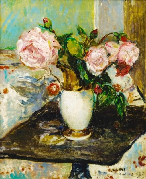 Flowers in a Vase | Jacques-Emile Blanche | Oil Painting
